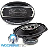 """PIONEER TS-A6995S 6""""x9"""" 600W 5-WAY COAXIAL CAR AUDIO STEREO AMPLIFIER SPEAKERS"""