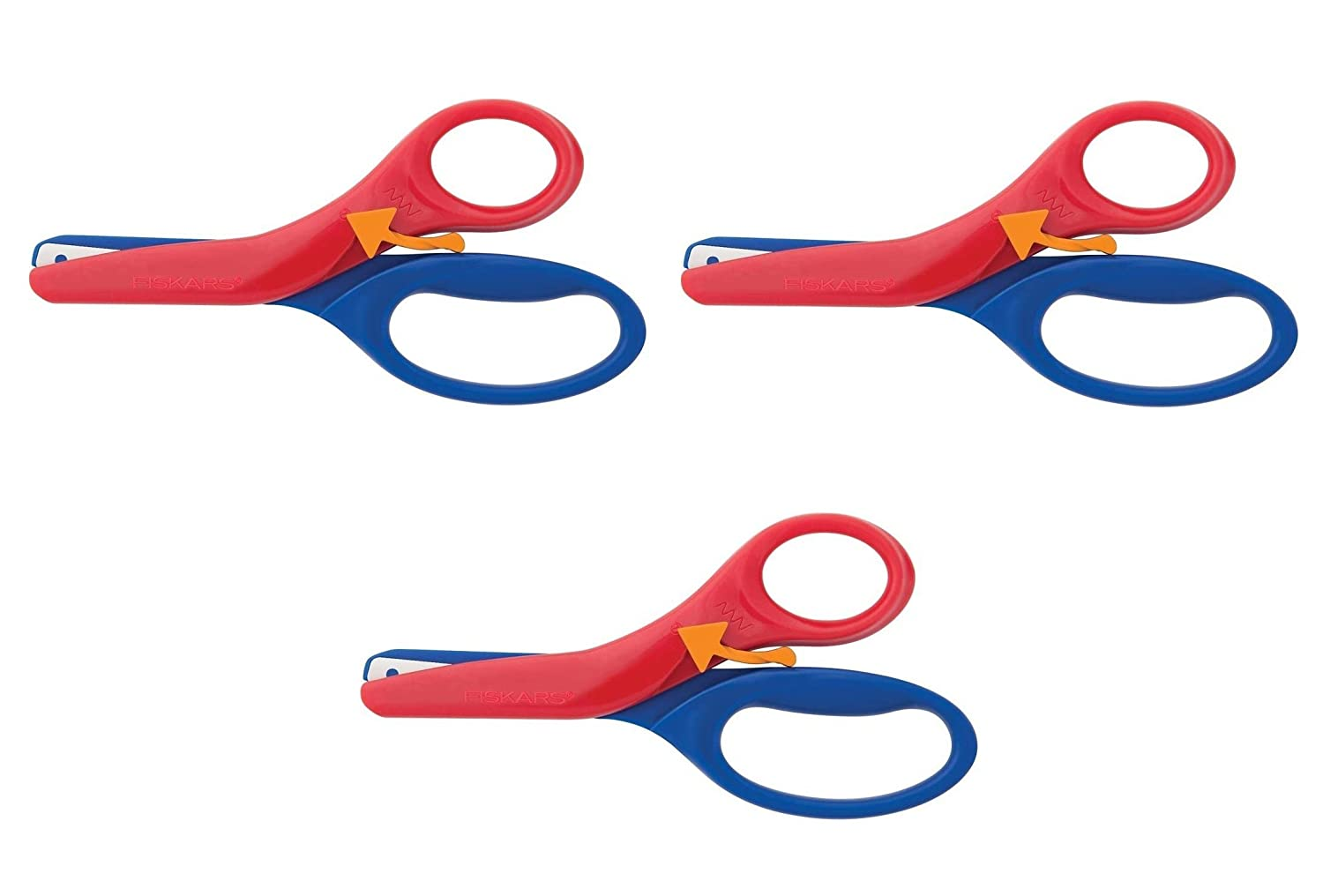 Fiskars 194900-1001 Pre-School Training Scissors, Color Received May Vary (3)