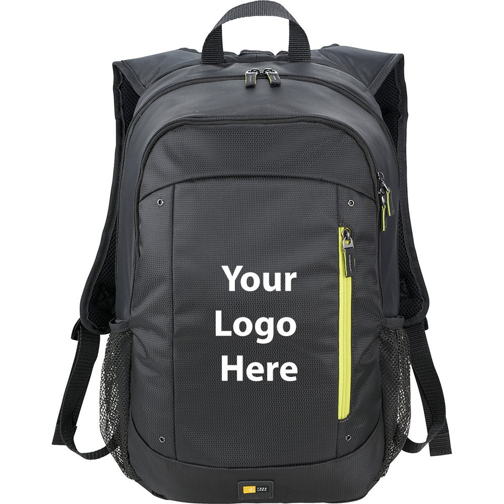 Case Logic Jaunt 15'' Computer Backpack - 12 Quantity - $48.30 Each - PROMOTIONAL PRODUCT / BULK / BRANDED with YOUR LOGO / CUSTOMIZED
