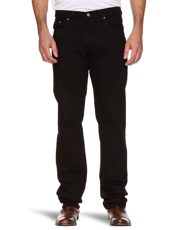 Wizard Jeans Brad Straight Men's Jeans Jet Black W44 INxL34 IN:  Amazon.co.uk: Clothing