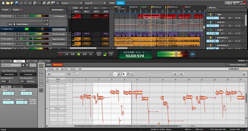 Mixcraft 8 Pro Studio [Online Code]