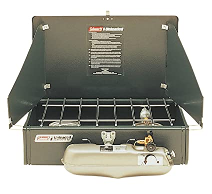 Amazon.com : Coleman 3000000788 2-Burner Liquid Fuel Stove ...