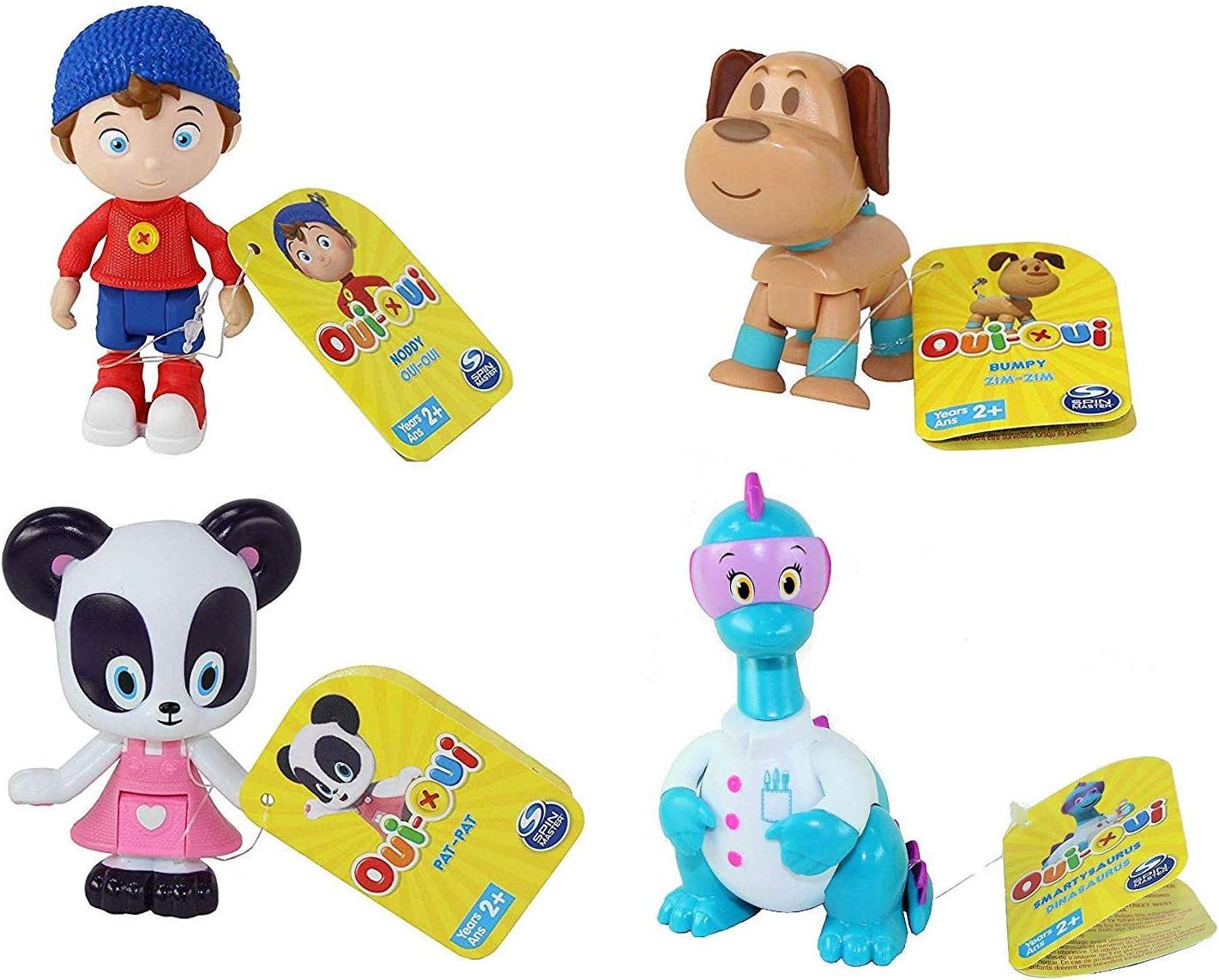 Noddy Dreamworks Toyland Detective 3 Piece Figure Set Bumpy Dog /& Pat-Pat