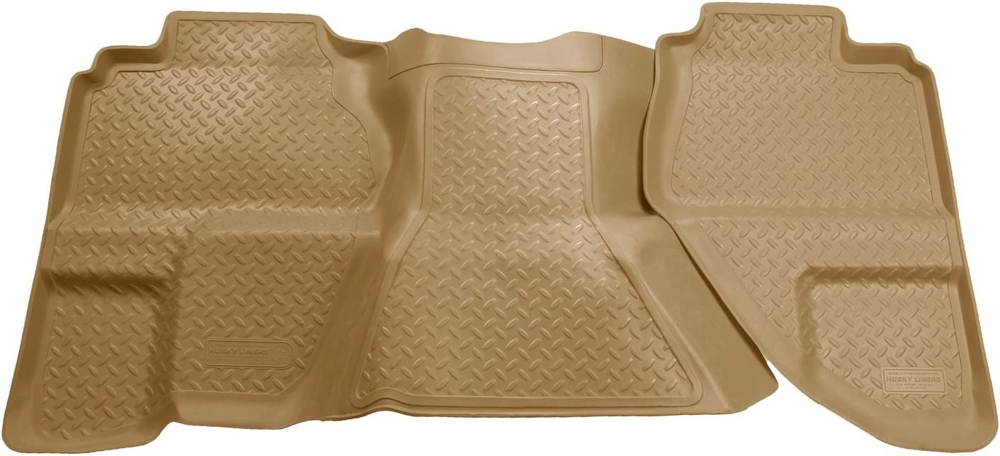 Tan Winfield Consumer Products 61373 Husky Liners Custom Fit Second Seat Floor Liner for Select Chevrolet Silverado//GMC Sierra Models