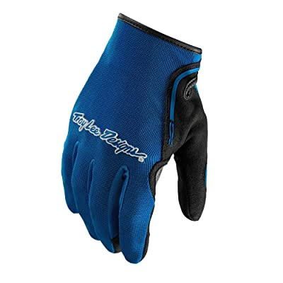 Troy Lee Designs XC Glove - Men's Solid Blue, L: Sports & Outdoors