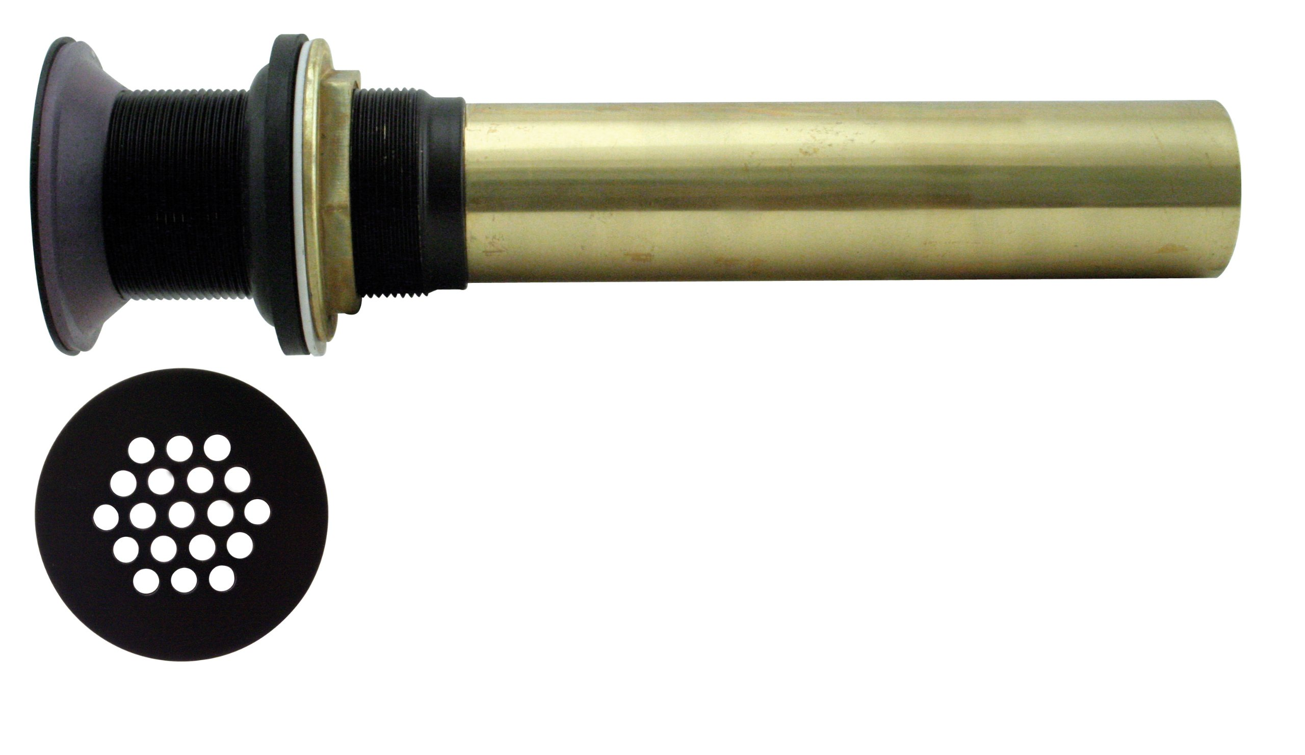 Vessel/Bar/Bathroom Drain Oil Rubbed Bronze no overflow by Westbrass