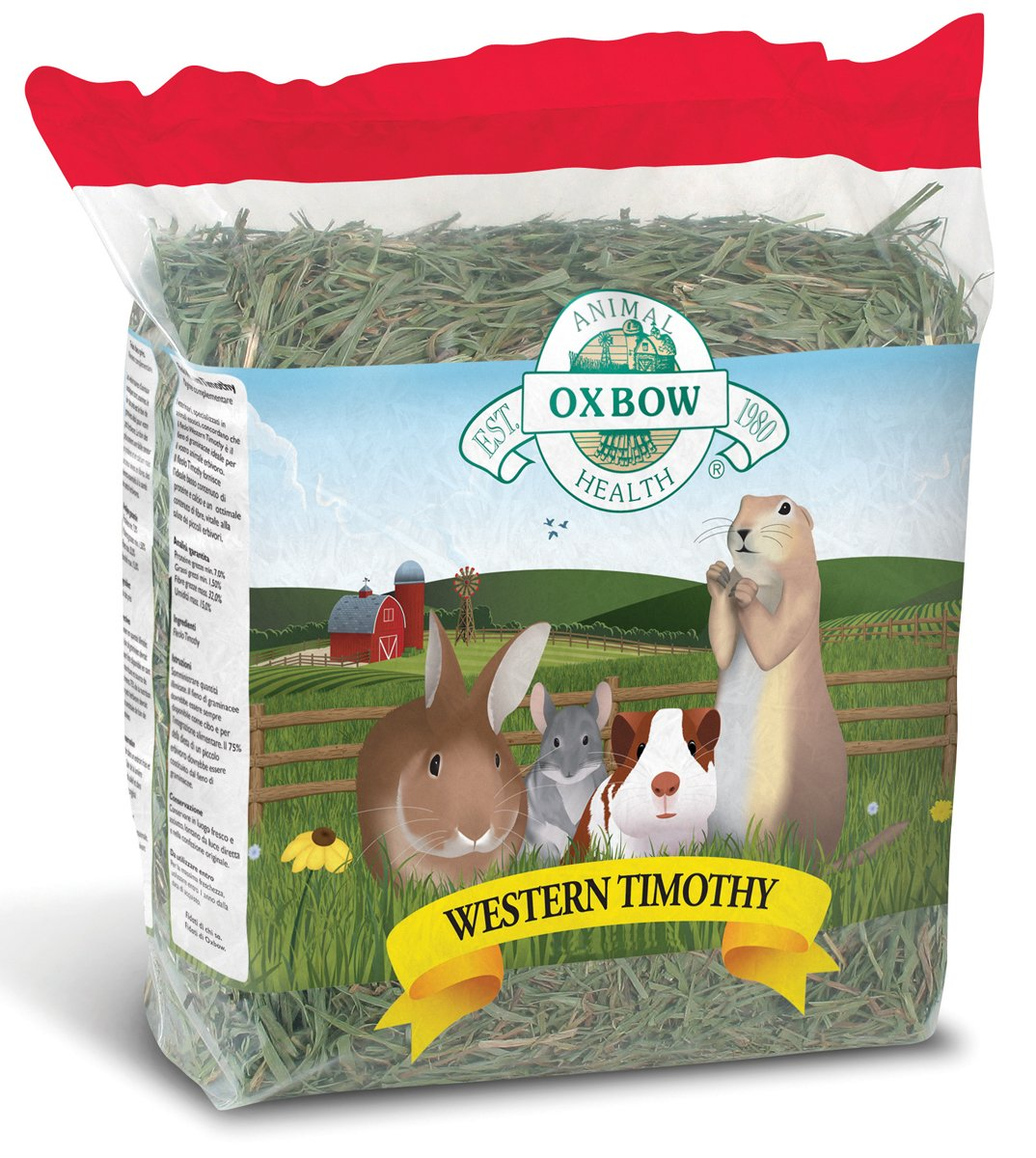 Oxbow Animal Health Western Timothy Hay For Pets, 50-Pound by Oxbow Animal Health