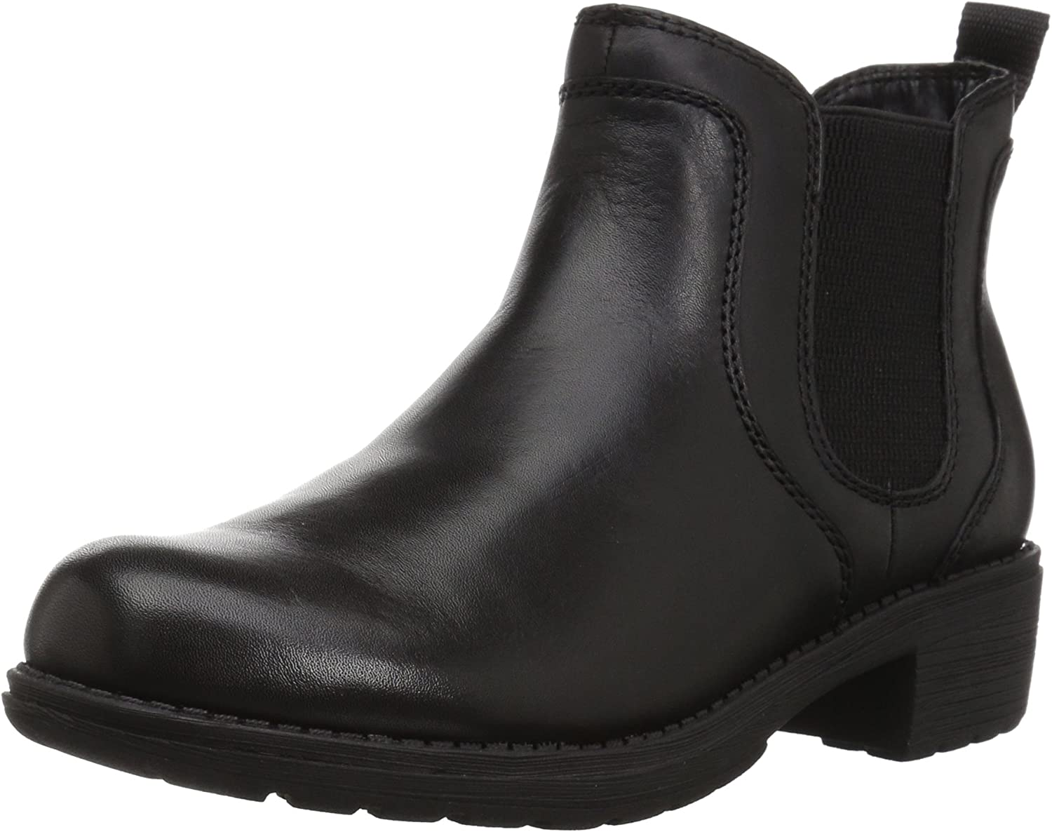 Vintage Boots- Winter Rain and Snow Boots History Eastland Womens Double Up Chelsea Boot $175.04 AT vintagedancer.com