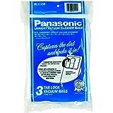 Panasonic MC-V145M Type U-6 Tab Lock Micron Paper Bag, 3-Pack
