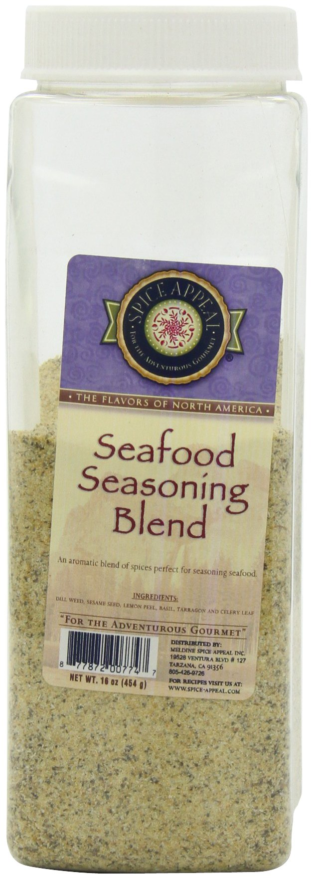 Spice Appeal Seafood Seasoning Blend, 16 Ounce