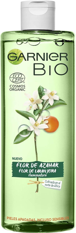 Garnier Bio Agua Micelar con Agua de Flor de Azahar Ecológica - 400 ml