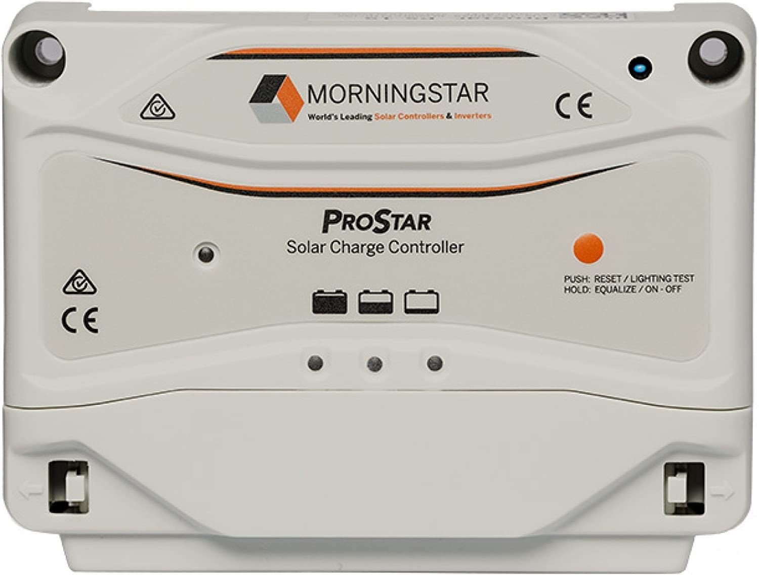 MorningStar ProStar PS-30 PWM Solar Charge Controller, 30 Amp 12 24 Volts