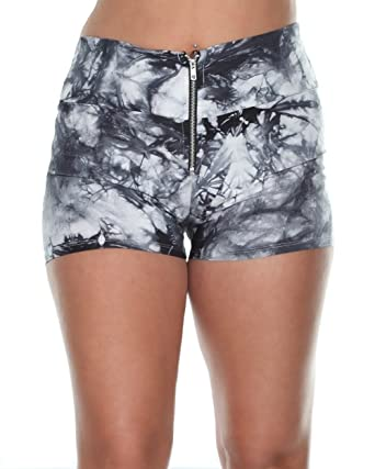 High waist hot pants shorts