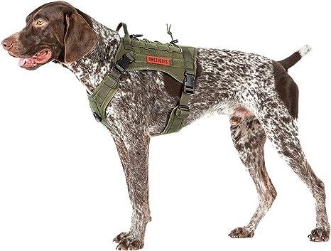 ONETIGRIS Arnés para perro, para entrenamiento, nailon 1000D ...