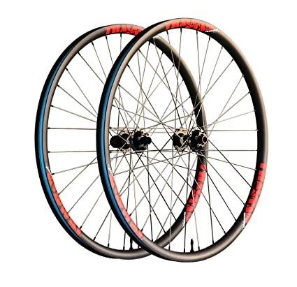 "Ruedas TRACKSTAR Carbono para MTB XC, 29"" - 30mm ancho, ligeras y resistentes"