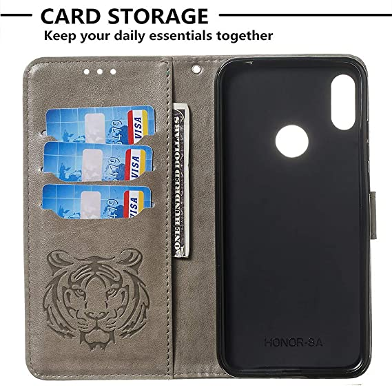 Amazon.com: Huawei Y6 2019 Wallet Case, Flip Case Wallet ...