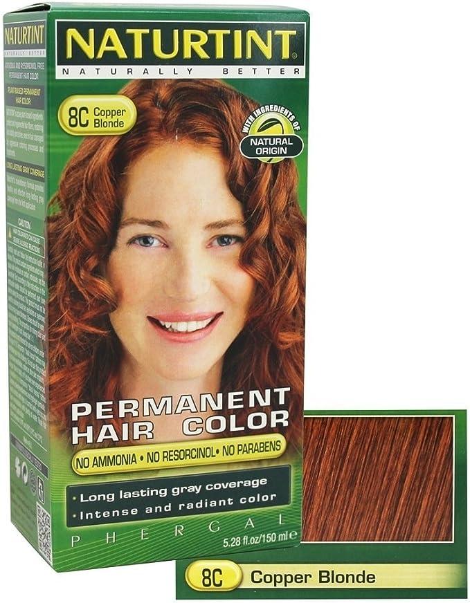 Naturtint Permanent Hair Colors Copper Blonde (8C) 4.50 Oz by ...