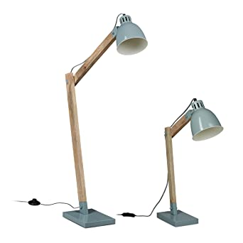 Lampen Set Stehlampe Und Schreibtischlampe Leselampe Skandinavisch Mangoholz