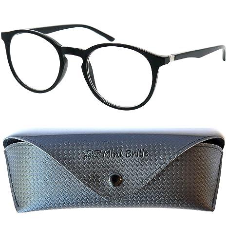 8c8ae637c8 Elegantes Gafas con Filtro de Luz Azul Unisex para Leer | Grandes Lentes  Redondos que Bloquean ...