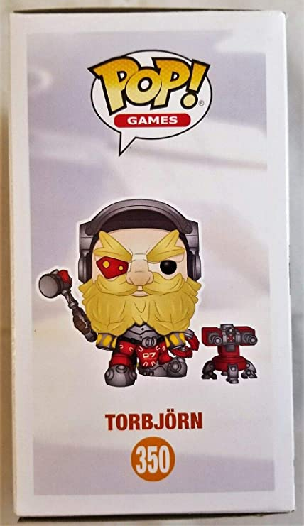 Keith Silverstein Autographed Signed Torbjorn Funko Pop 350 ...