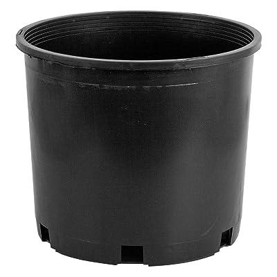 Pro Cal Premium Nursery Pot, 5 gal, Pack of 5: Garden & Outdoor
