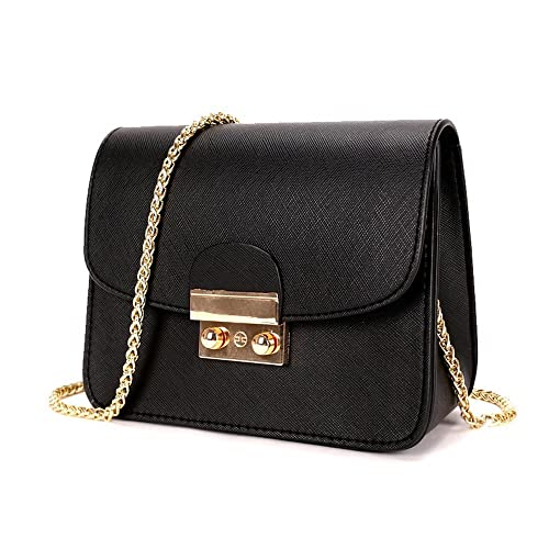 d48334a45cd TOTZY Evening Bag for Women Girls Small Purse Fashion Crossbody Purse with  Golden Chain Clutch