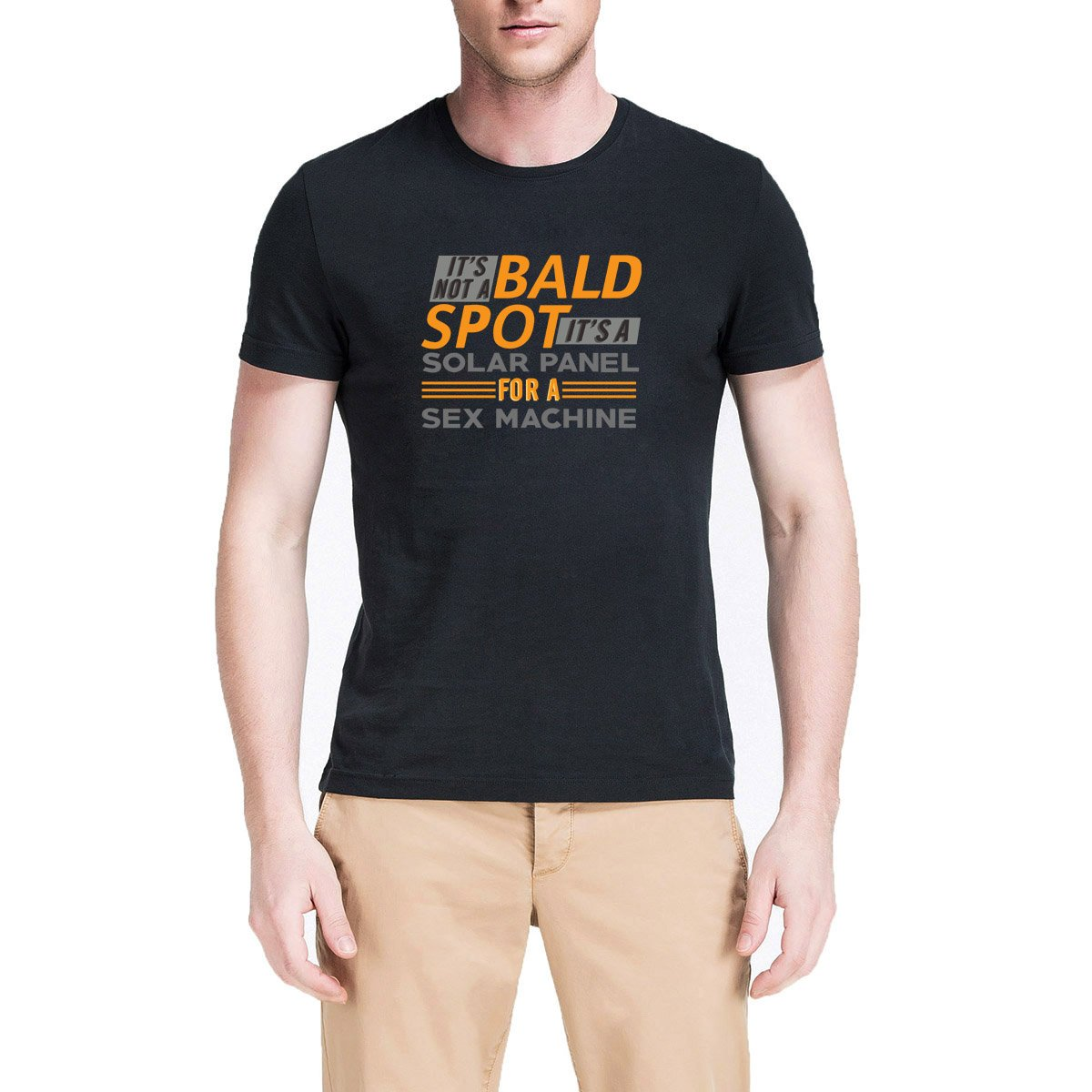 Loo Show It S Not A Spot It S A Solar Panel My Daughter Casual Crew T Shirts Funny Tee