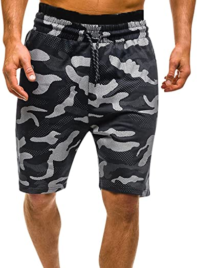 Night Digital camo Mens Beach Shorts Swimming Plus Size Board Shorts