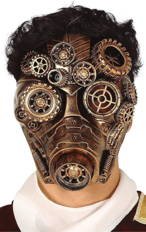 costume halloween Steampunk mask carnival fantastic