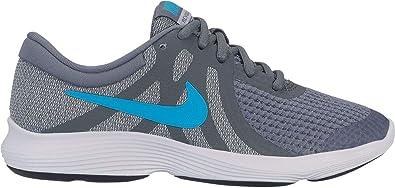 half off 0f652 61c2c Nike Revolution 4 (GS), Chaussures d Athlétisme garçon, Multicolore (Cool