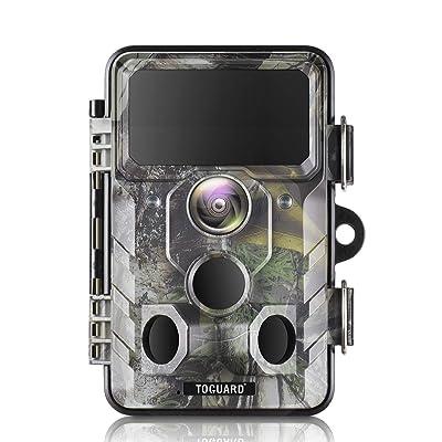 TOGUARD Upgraded Trail Camera WiFi Bluetooth 20MP 1296P Hunting Game Camera