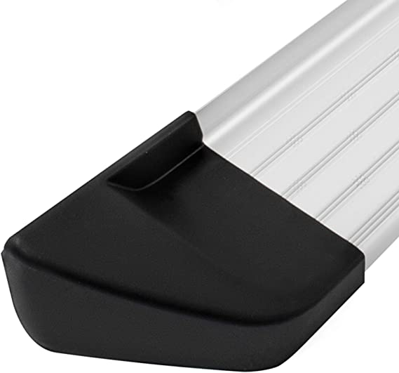 AMACCHI Pedane in Alluminio Bar Steps Fitting Kit per Ni-ss-an Qa-shqai 2007-2013