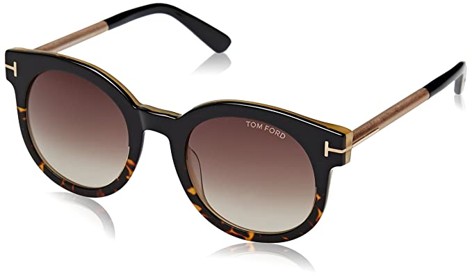 Tom Ford Sunglasses 51//22//140 Havana//Gradient Blue FT0435 Janina 52P