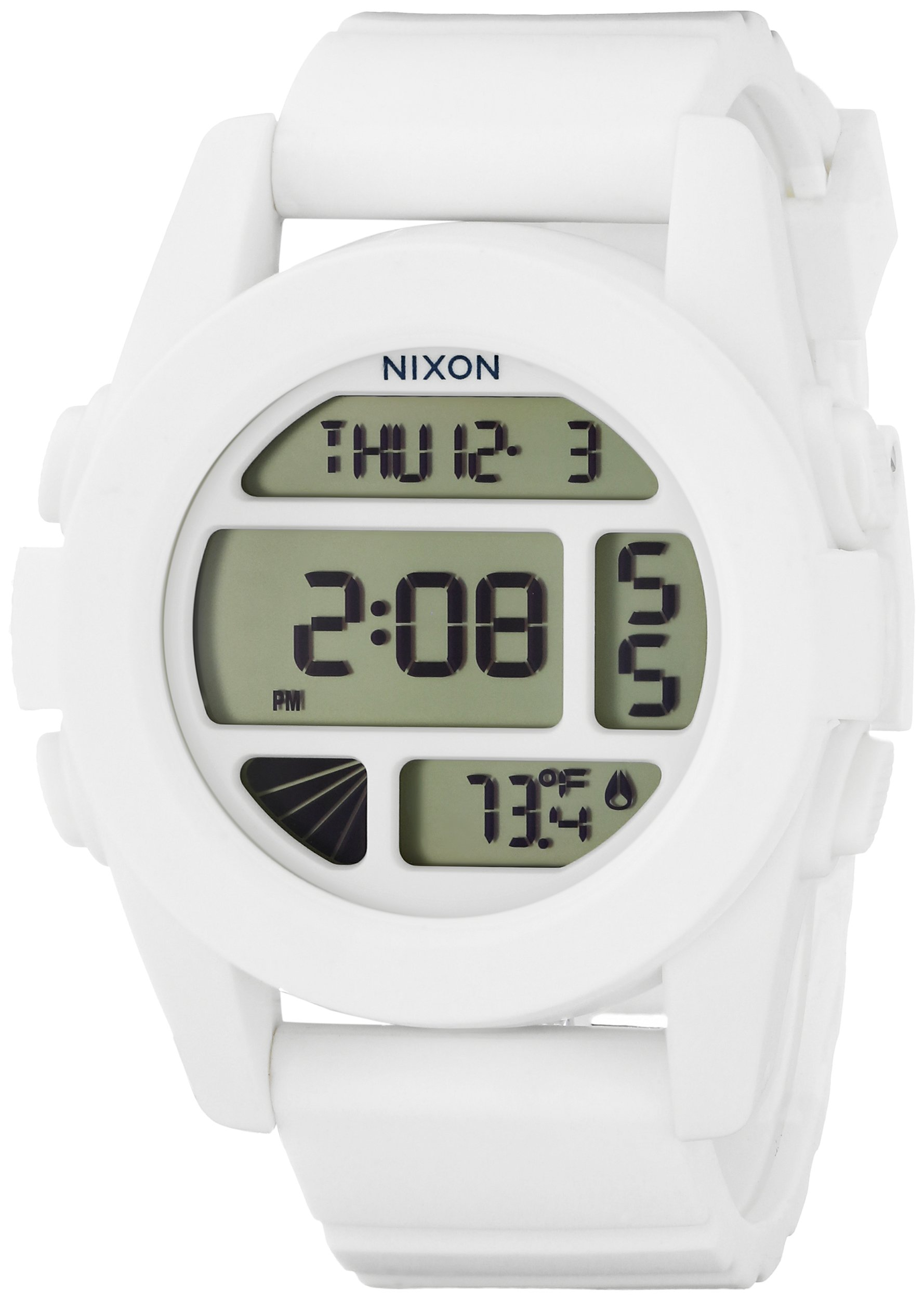 Nixon Unisex The Unit White Watch