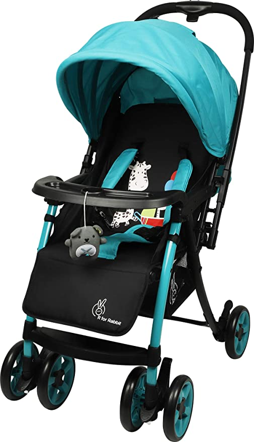 4896da33969 R for Rabbit Poppins Plus Pram- Baby Stroller and Pram for Baby with  Mosquito Net
