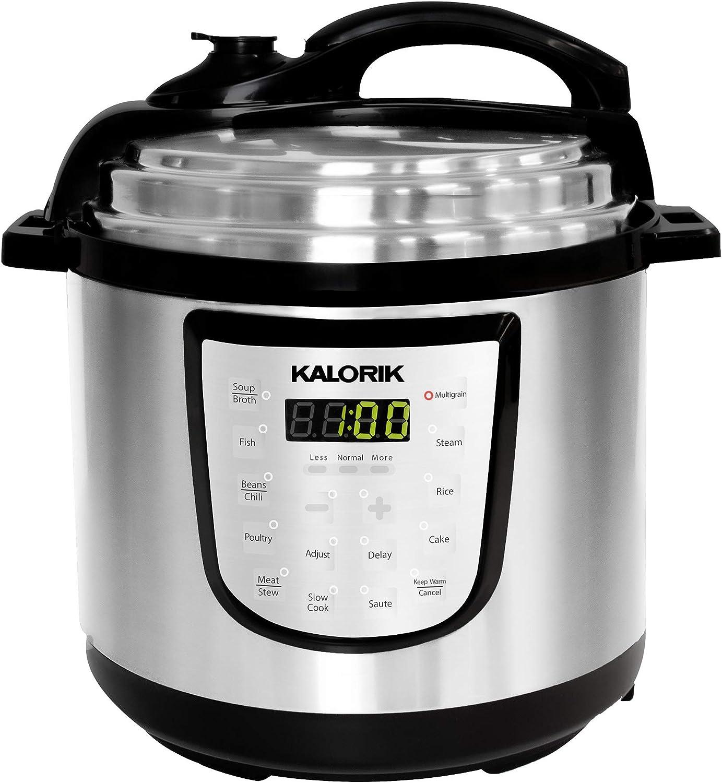 Kalorik 6 Quart Digital Pressure Cooker