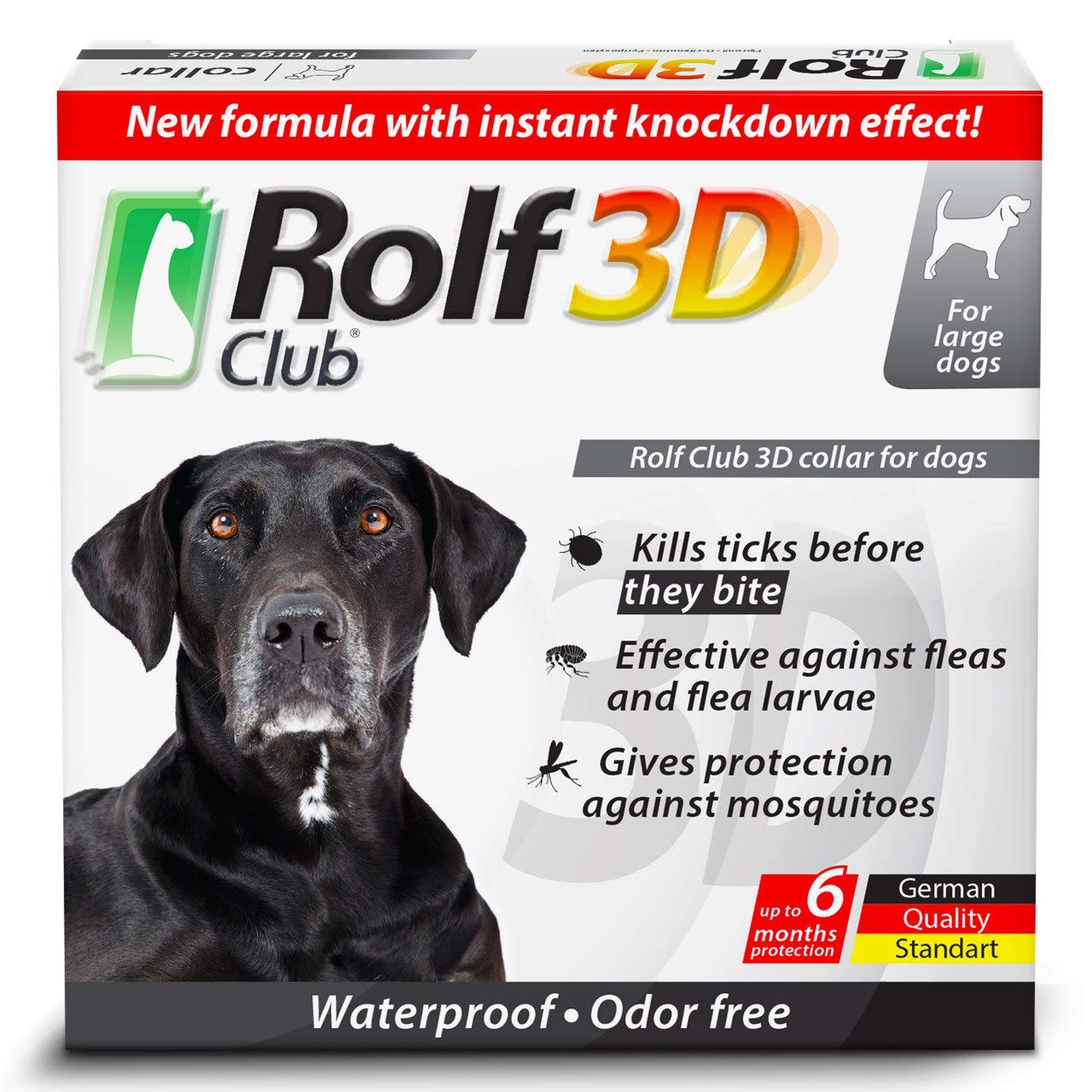 Rolf club 3d flea collar reviews for dog