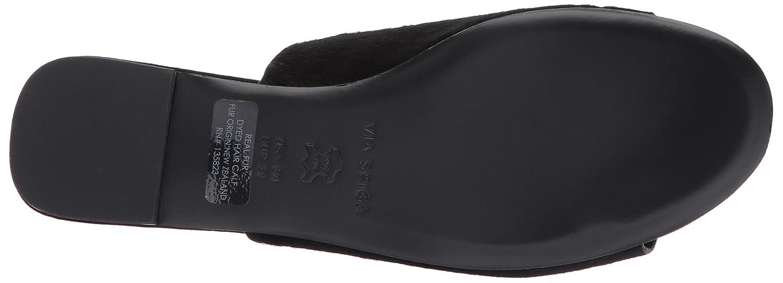 Via Sandal Spiga Women's HEATHER2 Slide Sandal Via B06XHDF58R 5.5 B(M) US|Black Pony Hair 397c23