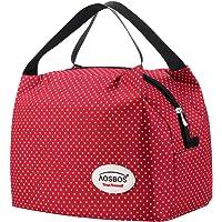 Aosbos Sac Repas Isotherme pour Déjeuner Lunch Bag Portable