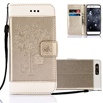 Aeeque Cover Portafoglio iPhone 6 6S 7 Custodia Huawei P8 P9 P10