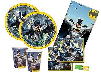 uni-que Kit N3 Batman Gotham coordinato Tabla Cumpleaños ...