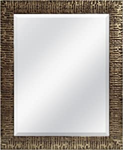 MCS 22x28 Inch Wall Mirror, 28x34 Inch Overall Size, Gold (47696), 28 by 34-Inch