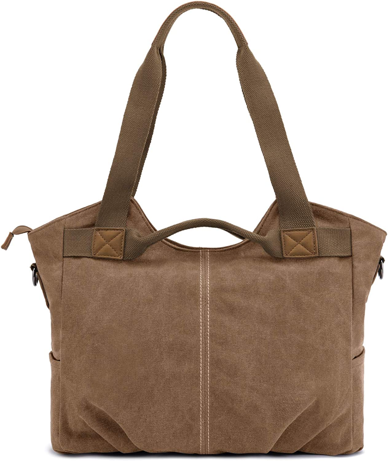 Casual Vintage Canvas Tote...