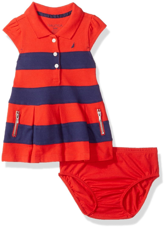 613112ad1ca3 Top5  Nautica Baby Girls  Short Sleeve Polo Dress