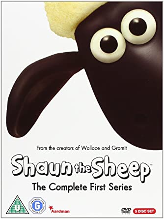 fef9648628e5 Shaun the Sheep - Complete Series 1  DVD   Amazon.co.uk  Shaun the ...
