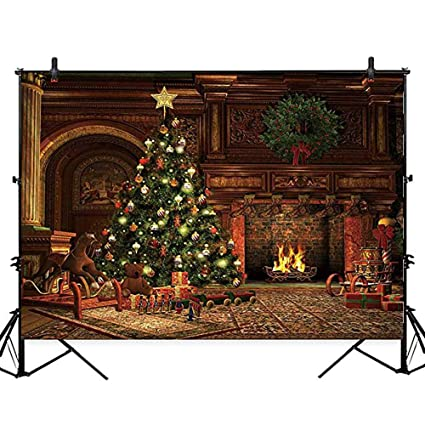 Allenjoy Photographic Background Wood Table Artisticistic Light Warm Christmas Backgrounds Background Vinyl A Bag Photo Studio Consumer Electronics
