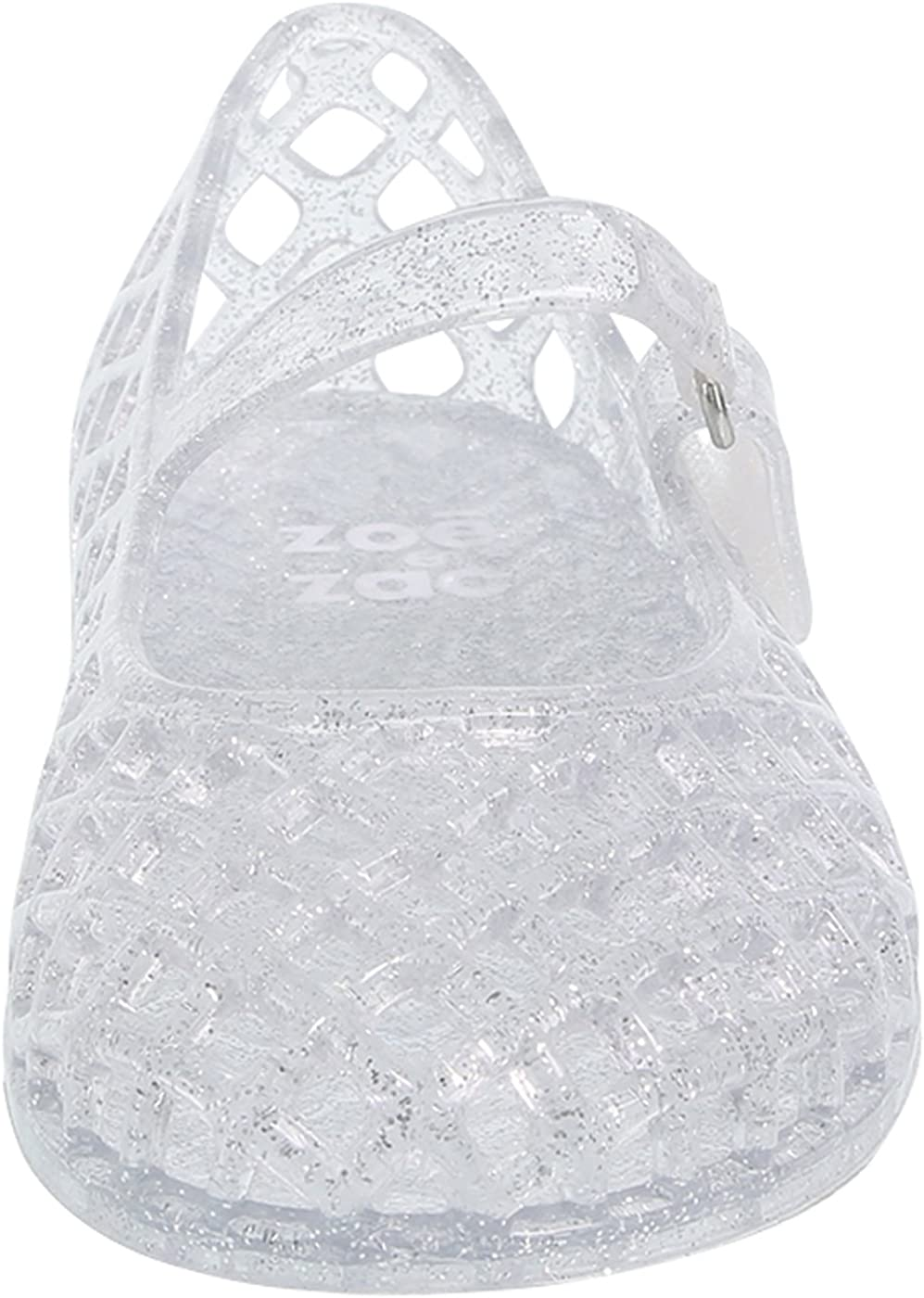 Zoe and Zac Clear Girls Toddler Lucy Jelly Sandal