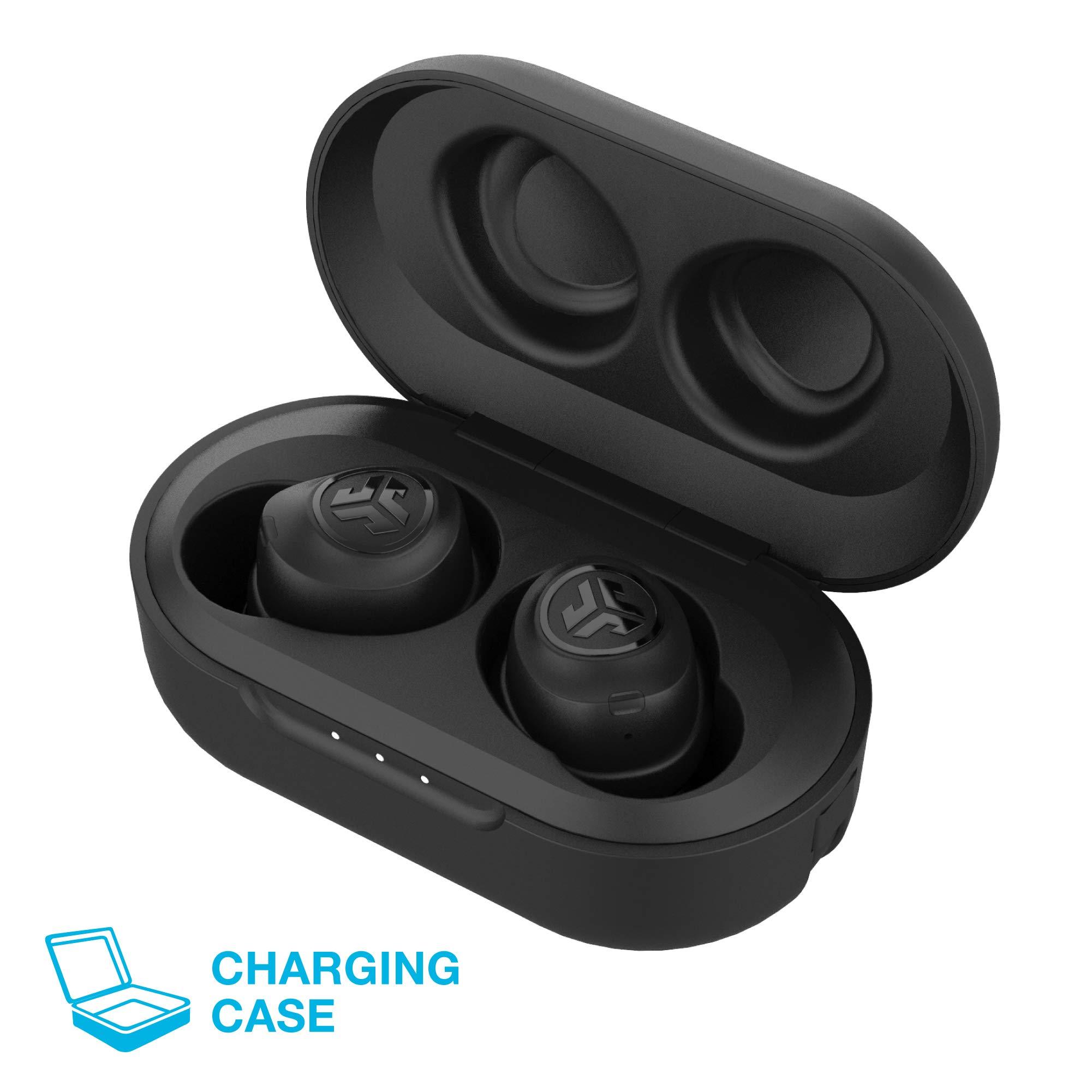 JLab Audio JBuds Air True Wireless Signature Bluetooth Earbuds + Charging Case - Black - IP55 Sweat Resistance - Bluetooth 5.0 Connection - 3 EQ Sound Settings: JLab Signature, Balanced, Bass Boost by JLAB (Image #3)