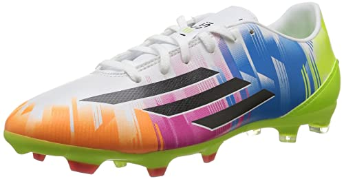 on sale 51528 44a85 adidas F10 TRX FG Messi Football Shoe Men white Size 9 UK
