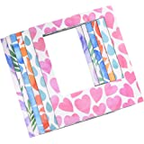 Polaroid 6 Designer Magnetic Picture Frames For 3x4 Photo Paper (POP)